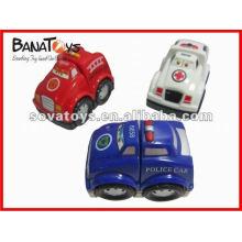 Brinquedo de bloco de carro de roda livre engraçado