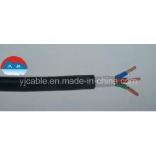 Резиновый кабельный многожильный гибкий проводник