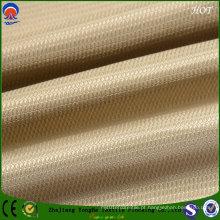 Tecido chama Retardant Blackout poliéster / linha de tecido para uso cortina