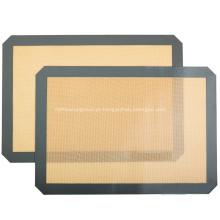 Esteira de cozimento do silicone da Non-vara para o jogo de cozimento