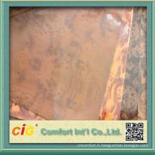 Chine Fournisseur matériel en cuir