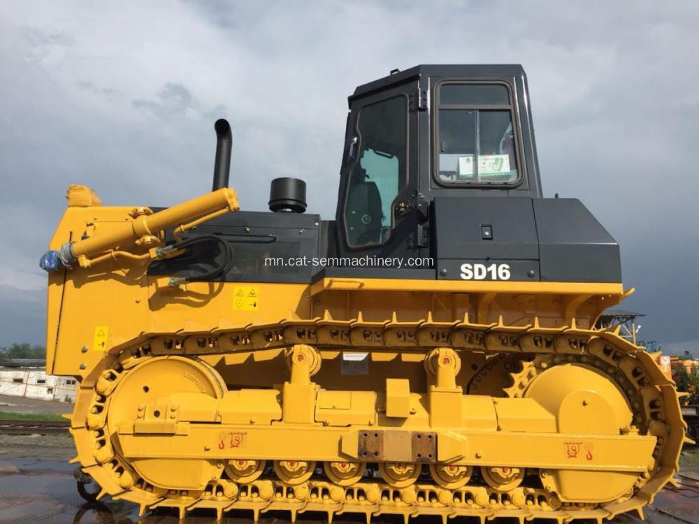 SHANTUI SD16 BULLDOZER нь RIPPER PORT CONSTRUCTION WITH