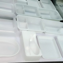 disposable plastic  tray  fruit container
