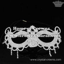 Wholesale Rhinestone Fancy Ball Queen Mask