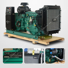 250 kva volvo electric diesel generator powered by EPA certified engine TAD754GE