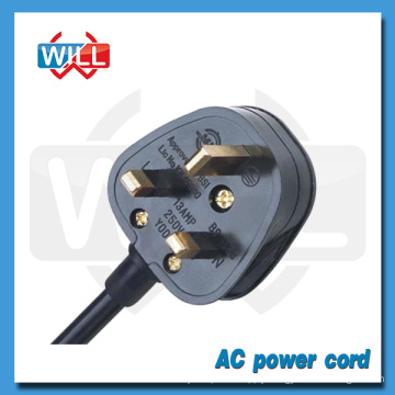Factory Wholesale British AC power cord for Electric fan