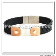 Stainless Steel Jewelry, Leather Bracelets,Fashion Accessories