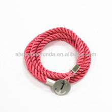 wholesale 2013 new products handmade friendship bracelet with cotton bracelet vners jewelry