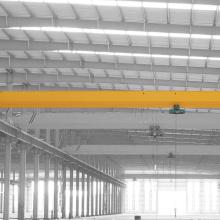 Pont roulant simple de la poutre 3T pour la construction de bâtiments en acier