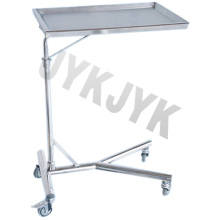 Edelstahl-Mayo Stand Trolley