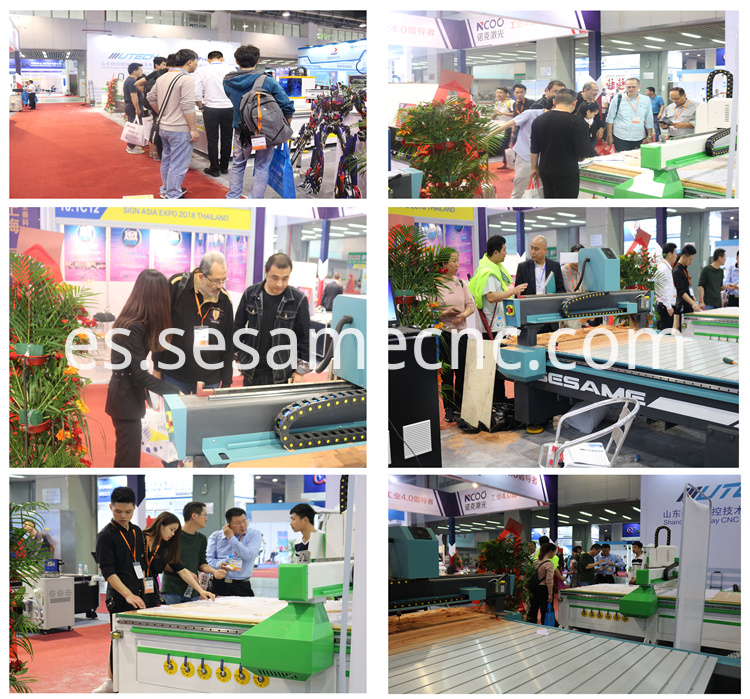 1 5kw Water Cooling Wood Cnc Engraving Router Machine