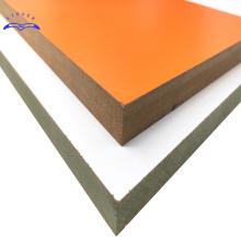 Qinge mdf factory high quality melamine mdf good price 18mm mdf board