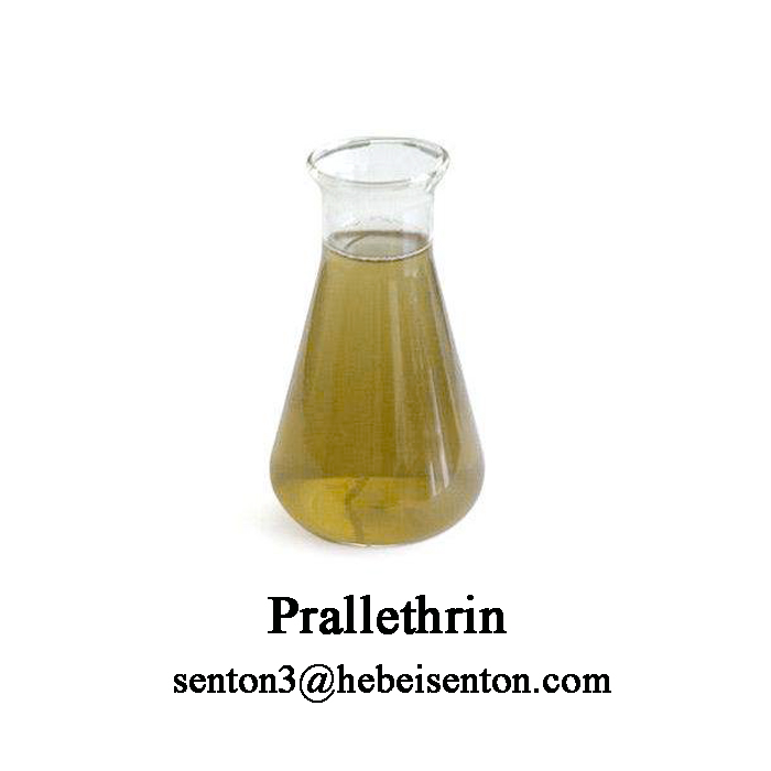 Yellow Brown Viscous Liquid Prallethrin