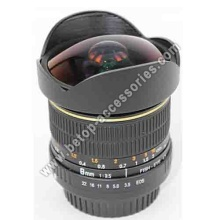 8mm Fisheye Lens