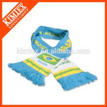 Foulards sport en tricot personnalisé en hiver
