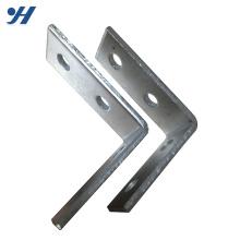 Структура стального ГОРЯЧЕОЦИНКОВАННОГО металла вися правых угловых скобок