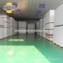 Fornecedor plástico galvanizado rígido de China da folha do PVC do plástico da superfície do espelho de JINBAO