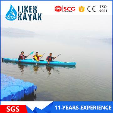 Oferecer Professional OEM 3 assentos PE Hull Kayak