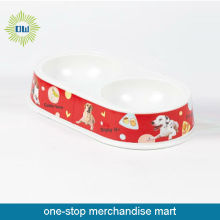plastic dog bowls with stand