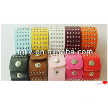 Fashion Korea Couple Bracelets Vintage Rivet Leather Bracelet