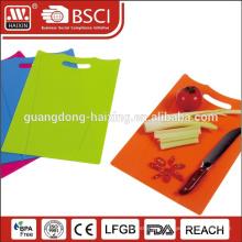 folding stype, wholesale Plastic antibacterial cutting board