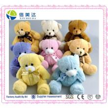 Игрушечные свадебные игрушки с плюшевым медвежонком