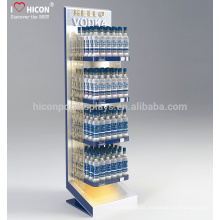 Para ajudá-lo a descobrir o melhor da sua marca, o Metal Floor 4 Tiered Water Liquor Bottle Display Stands For Retail