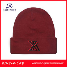 Custom High Quality Beanie Winter Knit Woven Label Beanie Hats/ Wholesale beanie With embroidery logo and woven labe, logo