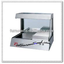 Brochetas verticales K229 con tapa vertical de acero inoxidable
