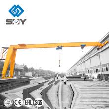 Yuntian !!! Semi hydropower Gantry Crane with Hoist