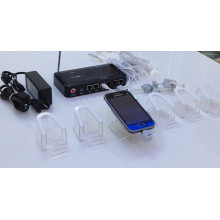 Multi-Ports Security Display System for Smart Phones