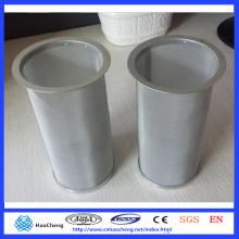 Filtro ultrafino reutilizable del café del tarro de Mason del acero inoxidable