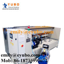 Degreasing machine for rotogravure cylinder making