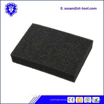 Esponja dura da areia do óxido de alumínio por atacado para a limpeza da cozinha