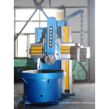 Cnc single frame vertical lathe machine