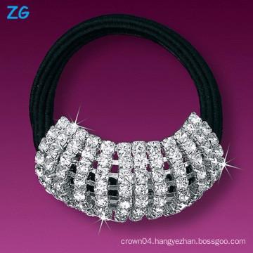 Luxurious full crystal girls hair band, elegant wedding headband, french hair band