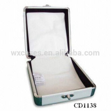 alta calidad 32 CD discos aluminio CD box por mayor de China fabricante