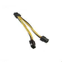 6pin PCI-Express to 8pin PCI-Express Electrical Power Wire Cable