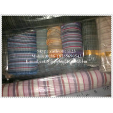 yarn dyed check/strip fabric stock lot