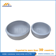 Aluminum gas pipe end cap
