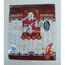 Impresso panela quente sou saco de comida / pacote plástico de qualidade alimentar / embalagens de alimentos degradáveis
