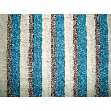 Filet à aiguille à boutons rayé rayé Filet en argent Tissu à côtes tricotées