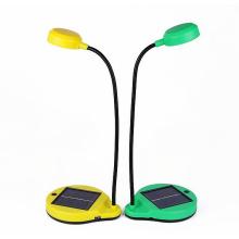 Lampe de lecture de table de bureau solaire amovible de batterie