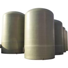 3000-10000 galones de fibra de vidrio grp frp tanque de almacenamiento de gasolina y aceite de petróleo combustible tanque