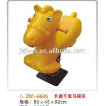Aktualisiertes Schaukelpferdeinzelteil reizendes Qualitätsschaukelndes Elefantspielzeug