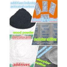 Aktivkohle als Deodorant Additive Entfeuchtungszusätze entfärbende Additive Glutamatadditive