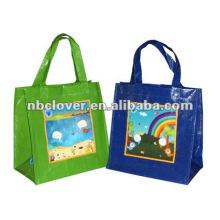 U-tubulação PP saco de compras tecido / saco do cliente / sacola