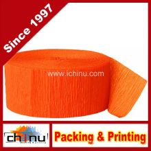 Orange Crepe Paper Streamer (420048)
