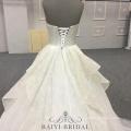 Vestido de novia por encargo del vestido de boda de Alibala vestido nupcial Vestidos de boda modestos del amor del baile de fin de curso para las señoras de las señoras de las mujeres