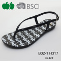 Hot Sale Top Quality Thong Latest Summer Lady Sandals
